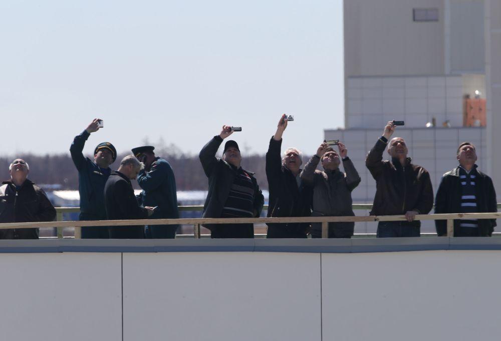 Le premier lancement d'une fusée depuis Vostotchny
