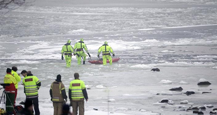Norvège: un hélicoptère s'écrase avec une quinzaine de personnes à bord
