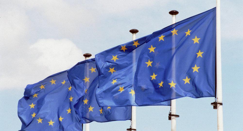 Drapeaux de l'Union européenne