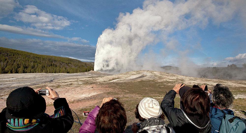Au Parc national de Yellowstone