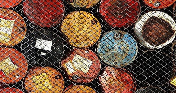 Barils du pétrole