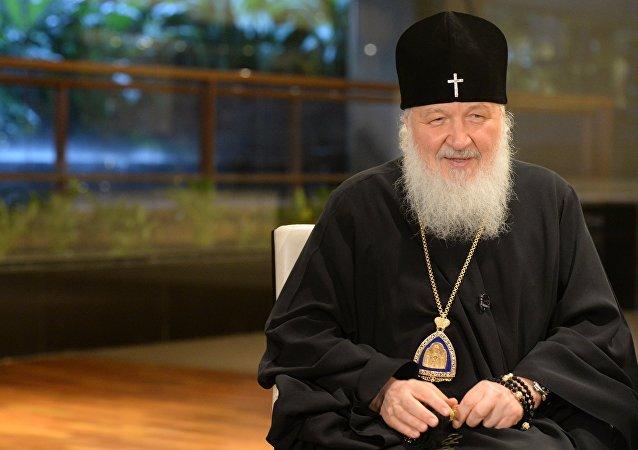 Le patriarche Kirill