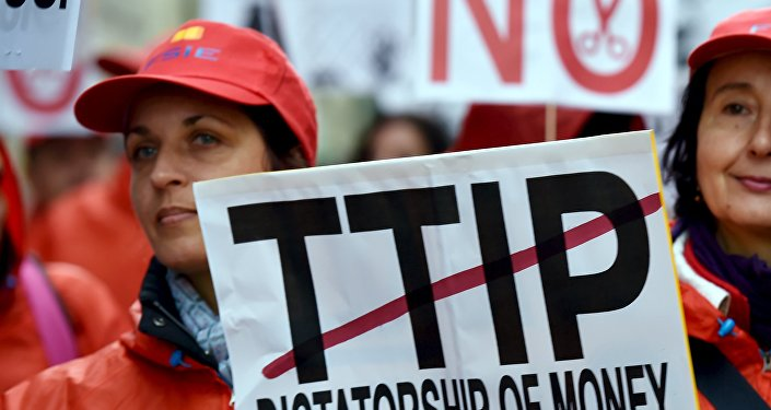 Les négociations sur le TTIP seraient reportées à 2018