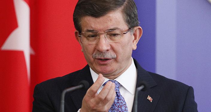 Ahmet Davutoglu, premier ministre turc