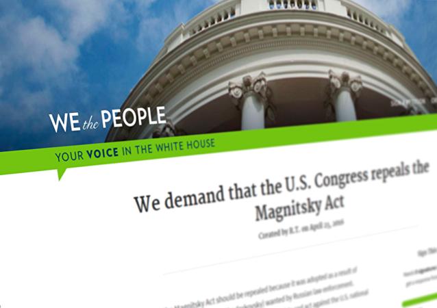 La Maison Blanche examinera la pétition appelant à abroger la loi Magnitski
