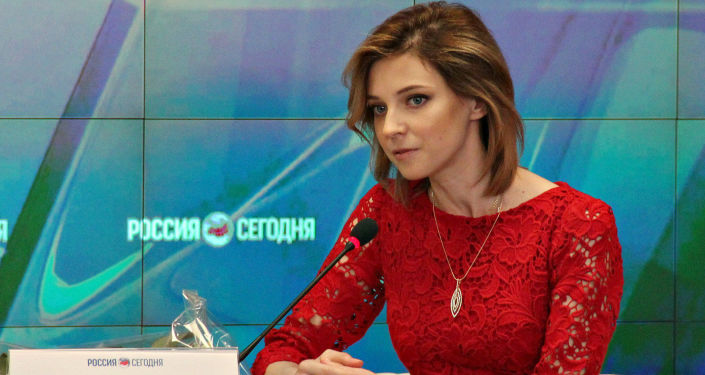 Natalia Poklonskaïa, procureur général de la République autonome de Crimée