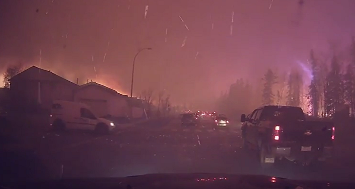Canada: les incendies ont doublé et menacent les exploitations pétrolières