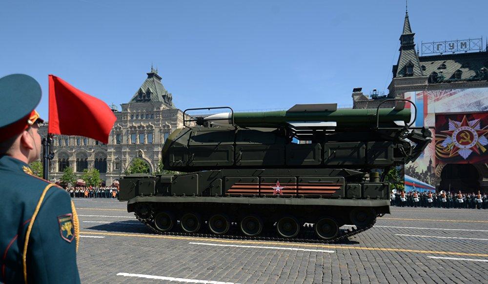 Missiles anti-aérien Buk-M2