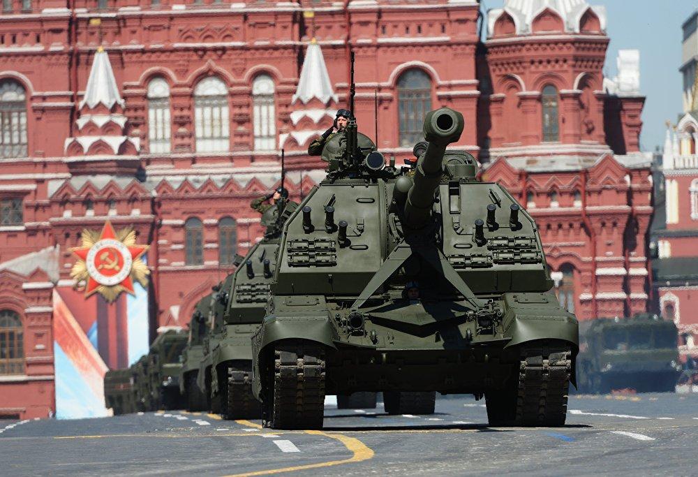 Canons automoteurs de 152 mm Msta-S