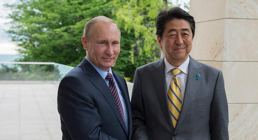 Quand le président russe et le premier ministre japonais s'entretiennent en amis