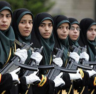 Des femmes policières iraniennes
