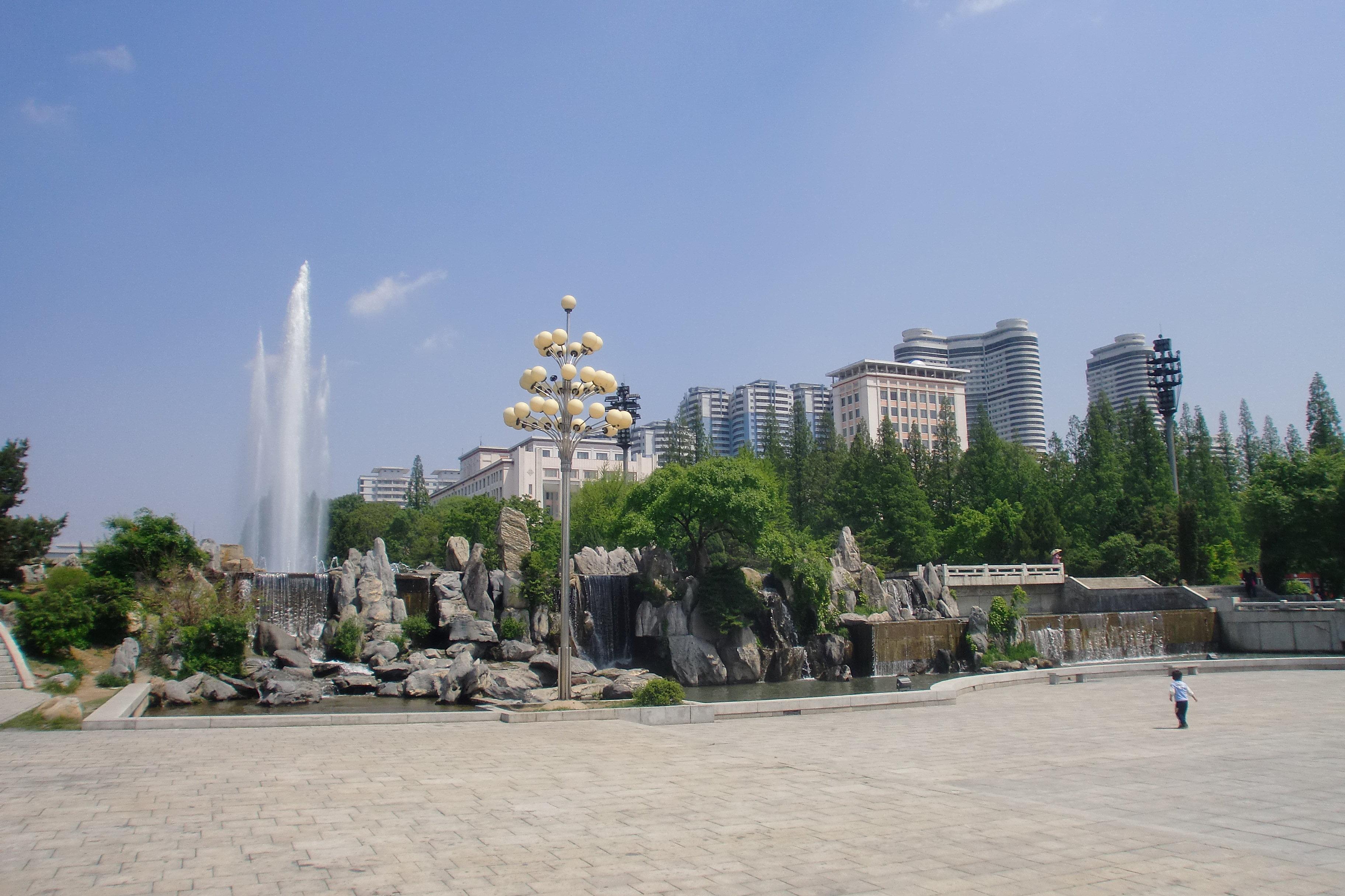 Des gratte-ciel à Pyongyang