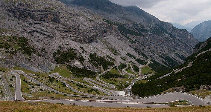 La route Stelvio Pass