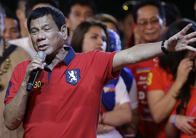 Le président élu des Philippines, l'avocat populiste Rodrigo Duterte