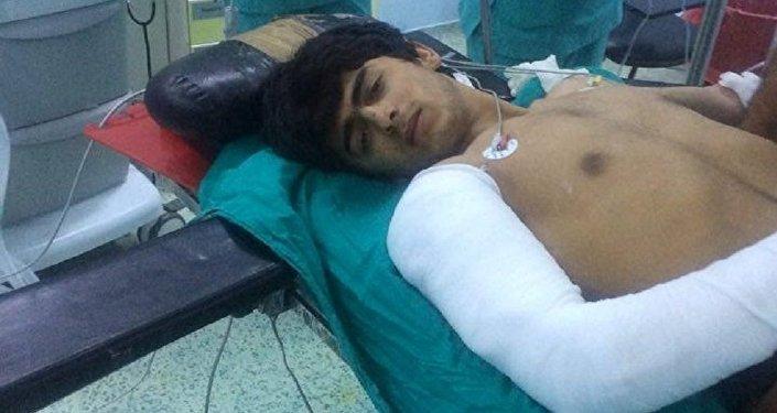 Un combattant de Daech soigné à l'hôpital Ersin Aslan
