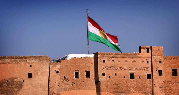 drapeau du Kurdistan