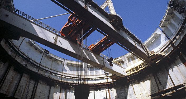 Montage d'un réacteur nucléaire