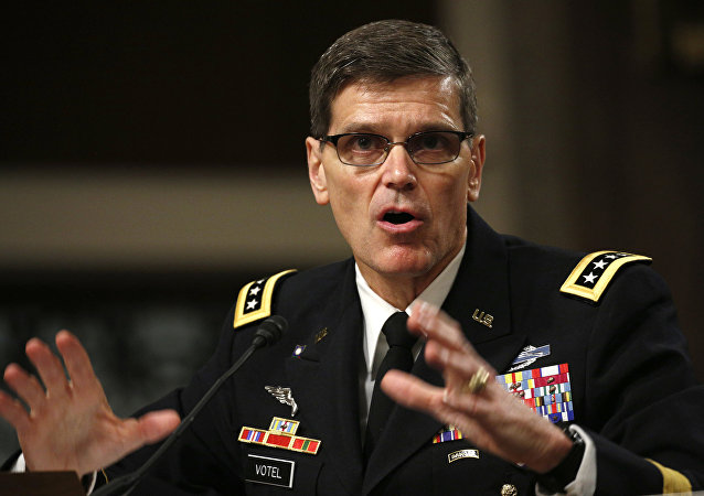 Le chef du Commandement central des Etats-Unis Joseph Votel