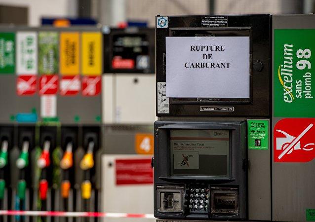 La France en proie à une pénurie d'essence