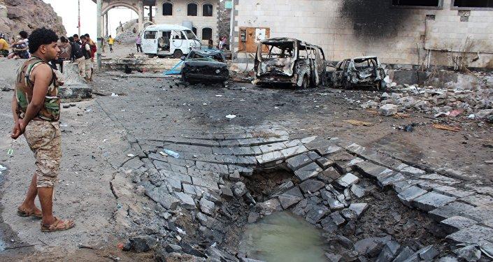 Attentat suicide à Aden. Archive photo