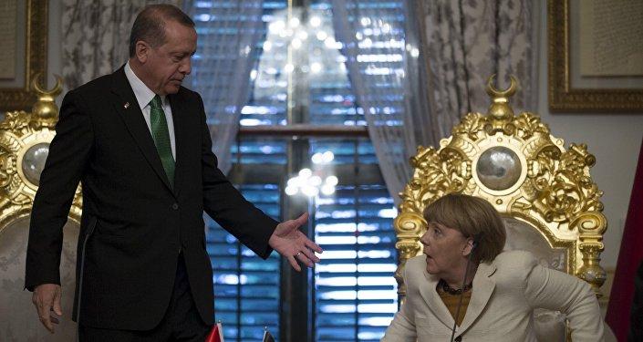 Angela Merkel et Recep Tayyip Erdogan