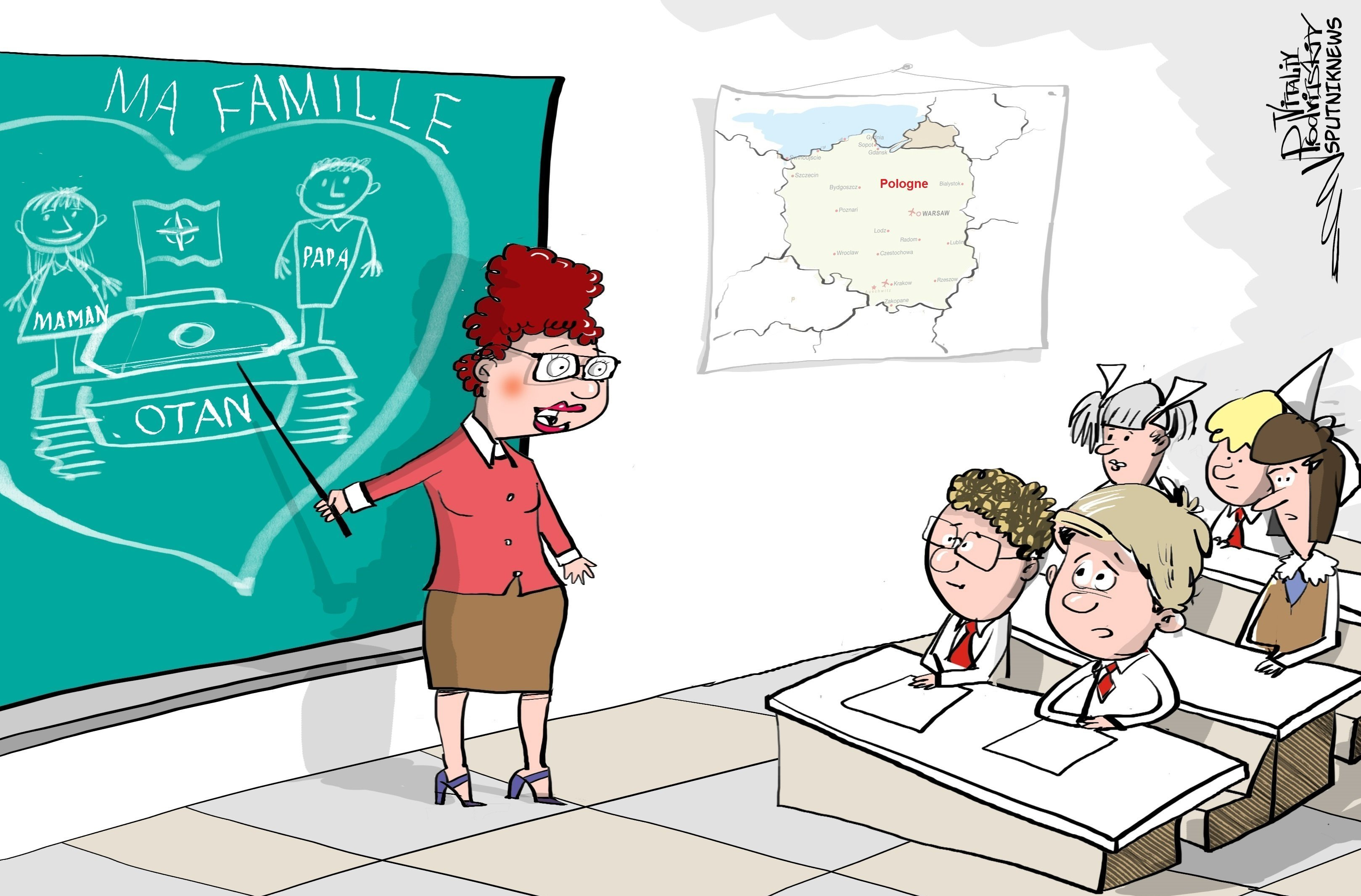 Les Polonais apprendront à aimer l'Otan dès l'école