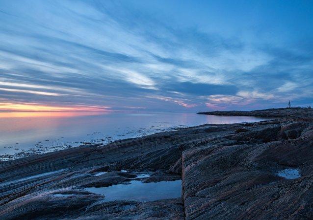 La nature rude et unique de la mer Blanche