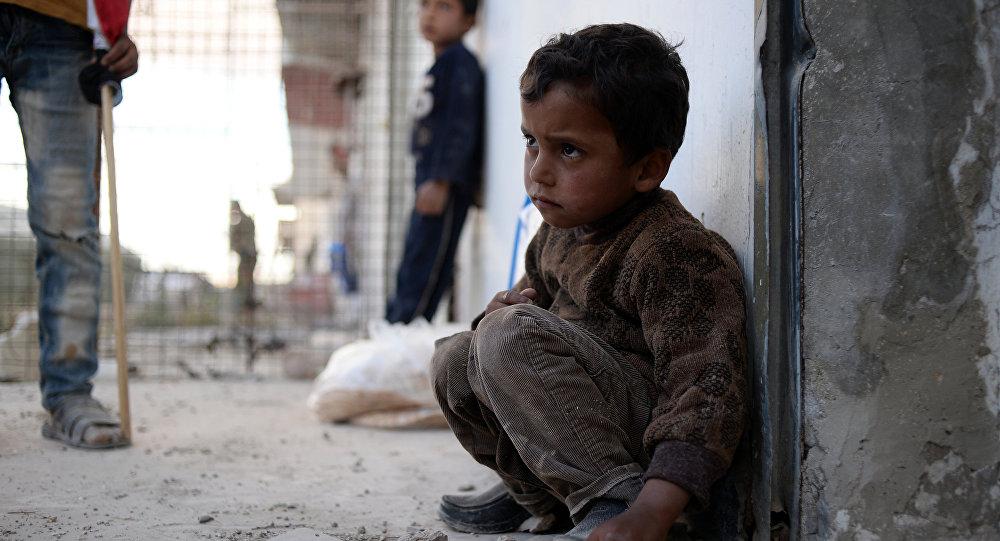 Dans une région assiégée de la Syrie