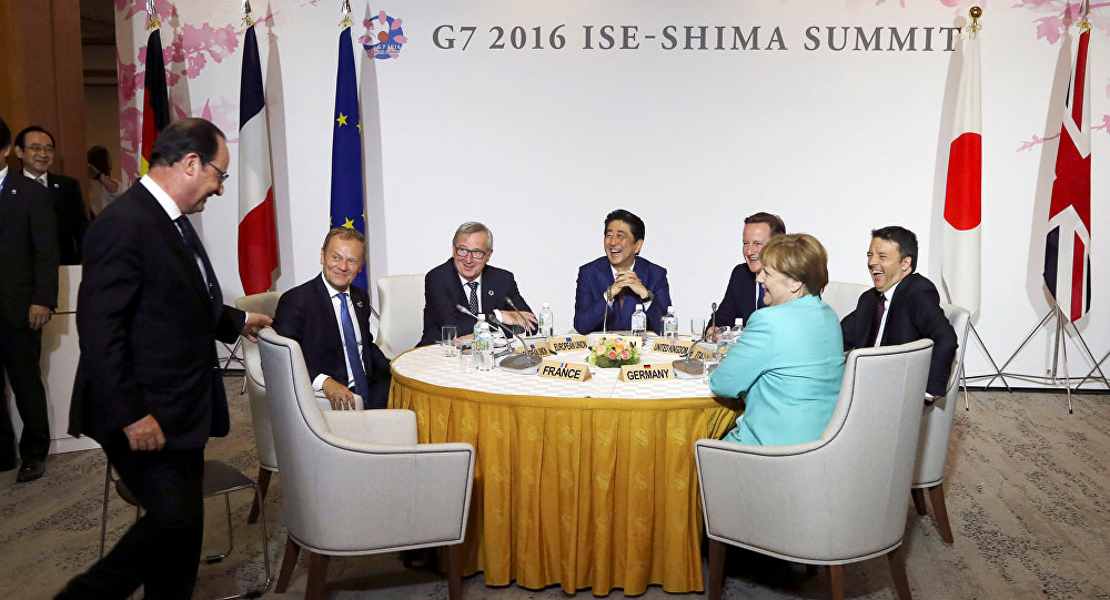 Leaders du G7
