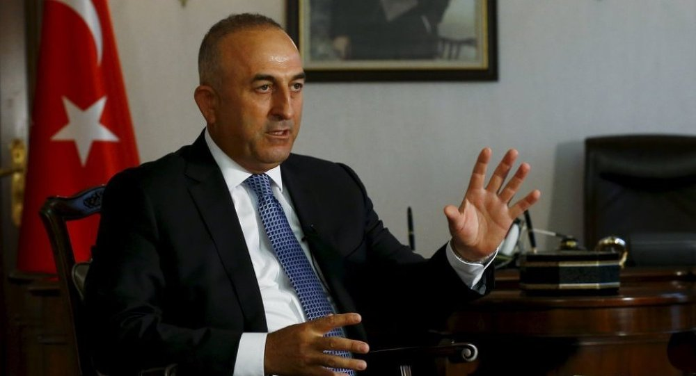 Le ministre tiurc des Affaires étrangères Mevlüt Çavuşoğlu