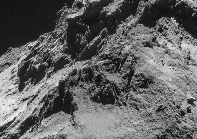 La comète 67P (Tchourioumov-Guérassimenko)