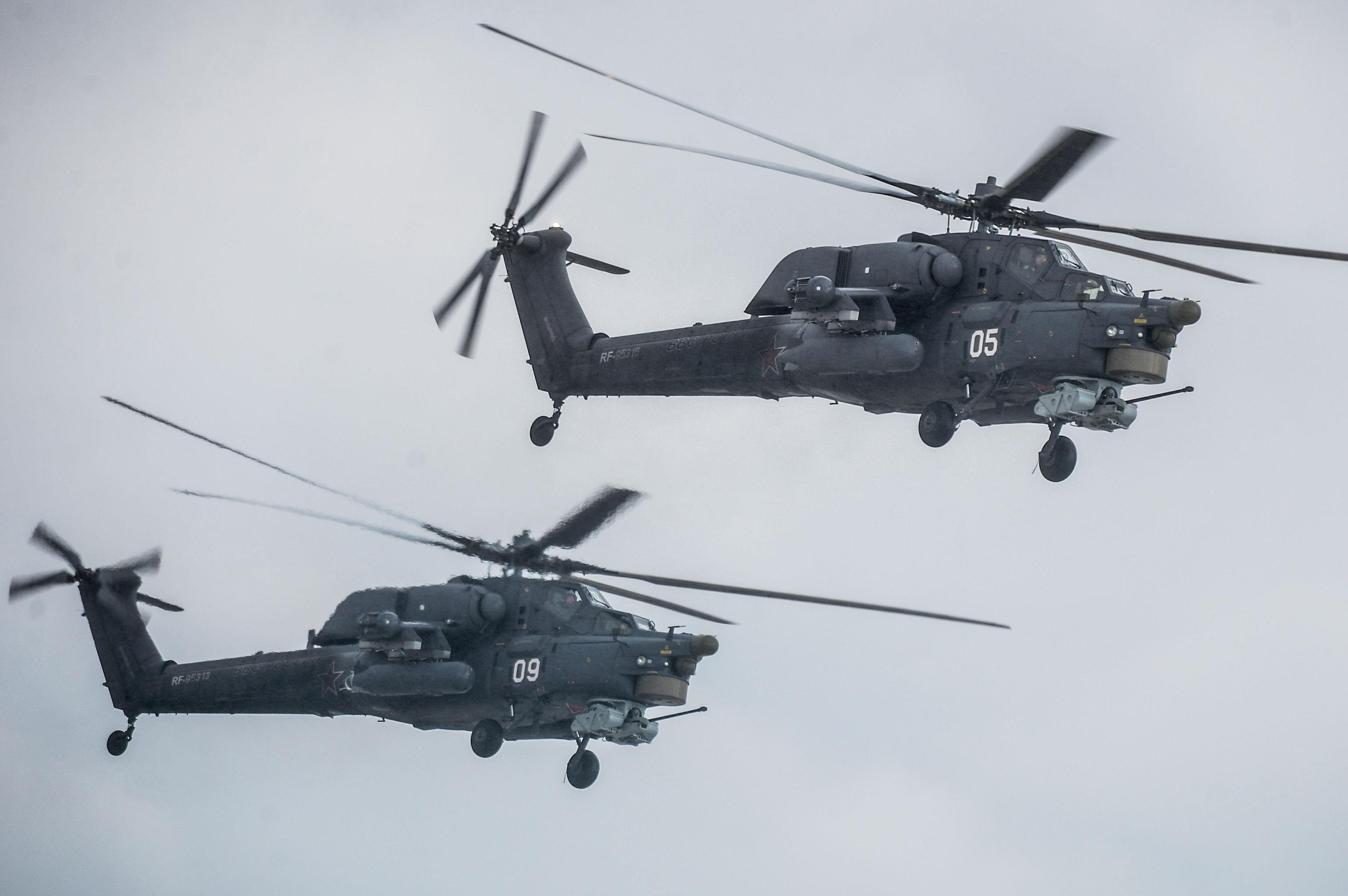 Hélicoptères Mi-28