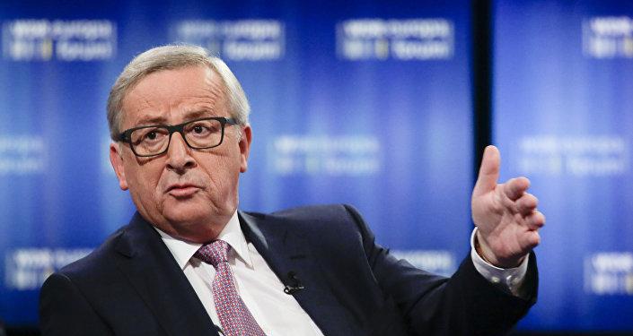 Le chef de la Comission européenne Jean-Claude Juncker