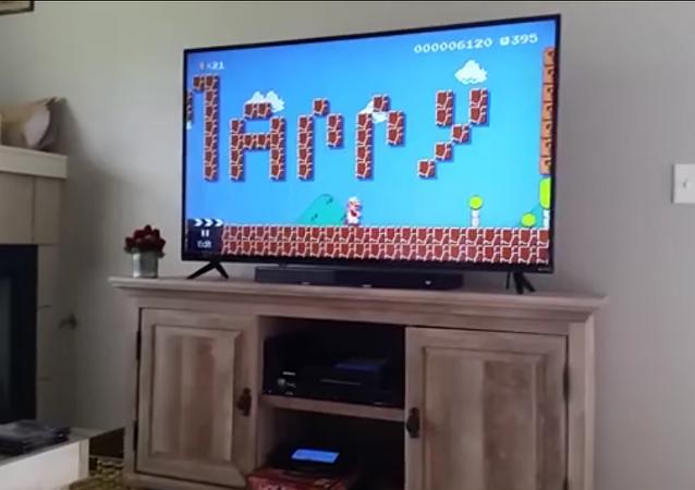 La demande en mariage dans Super Mario