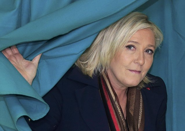Marine Le Pen, leader du Front National