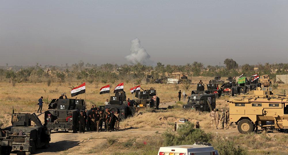 L'armée irakienne aux environs de Falloujah