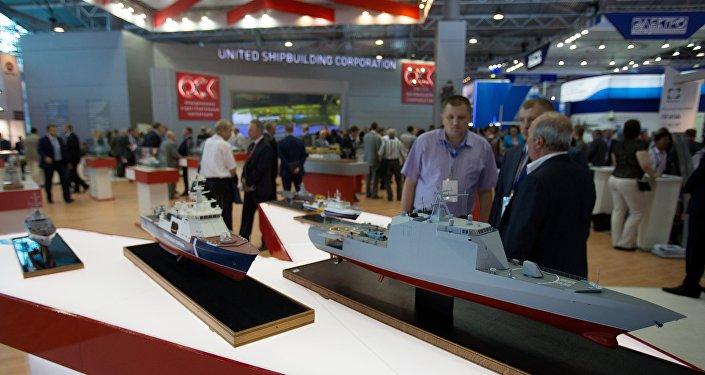 L'OSK expose au Salon international de la Marine de Saint-Pétersbourg