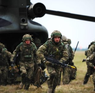 Soldats britanniques. Image d'illustration