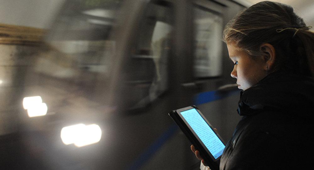 Le Wifi dans le métro de Moscou