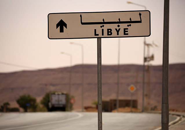 la frontière entre la Tunisie et la Libye