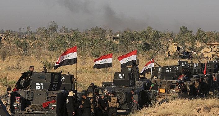 Les militaires irakiens préparent l'offensive sur Falloujah