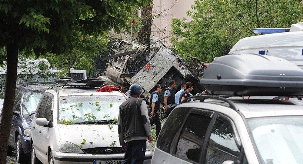 Une explosion près d'un arrêt de bus à Istanbul