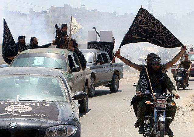 Membres du groupe djihadiste Front al-Nusra