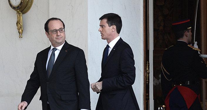 Hollande et Valls