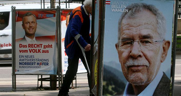 Les affiches électorales autrichiennes