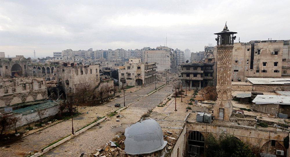 Une ligne de front à Alep