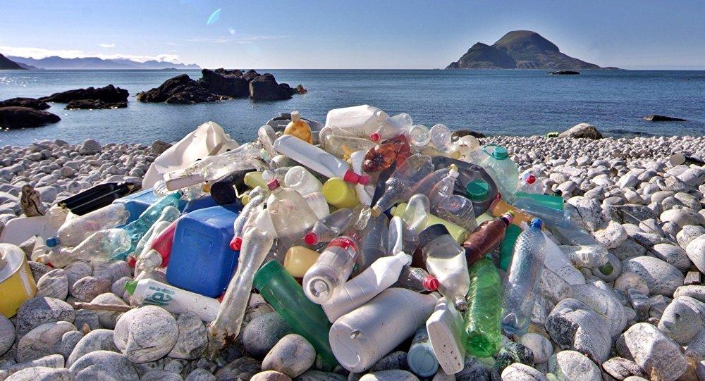Des déchets plastiques