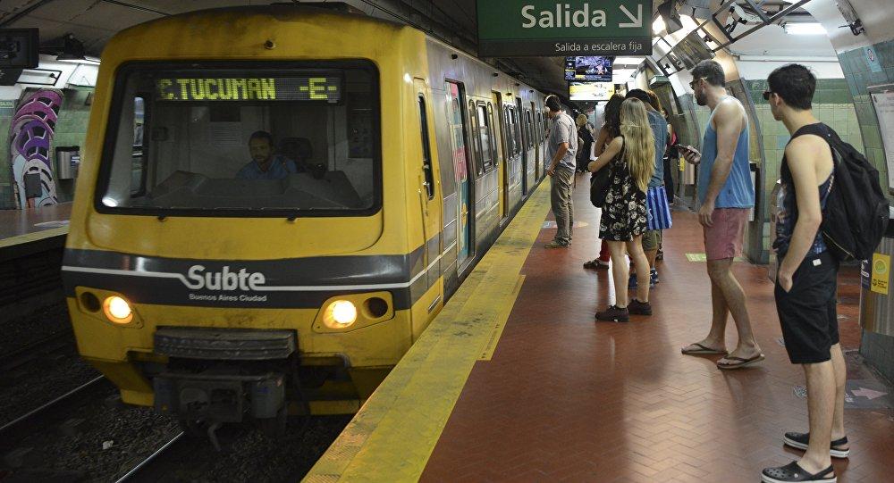 Métro de Buenos-Aires, Argentine