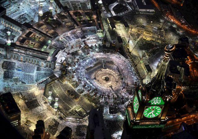 Prière à La Mecque