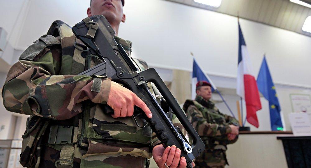 Des soldats français dans le cadre du plan Vigipirate à Nice